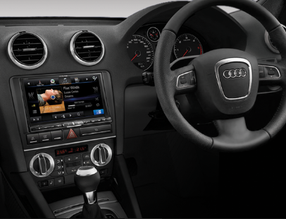 Alpine Audi A3 DAB+ Car Fit Solution product photo
