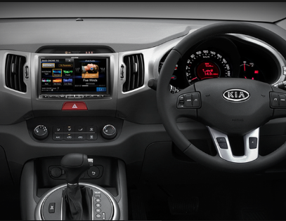 Alpine Kia Sportage DAB+ Car Fit Solution product photo