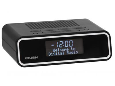 bush horizon dab digital radio alarm clock dab digital radio receivers digital radio plus. Black Bedroom Furniture Sets. Home Design Ideas