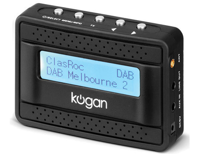 Kogan DAB+ Car Radio Converter product photo