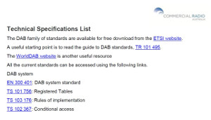 Technical Specifications List Cover Image